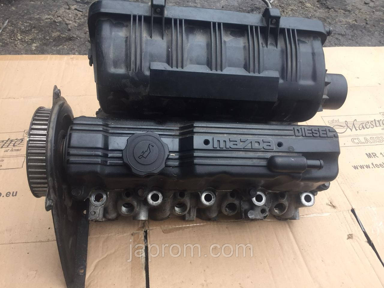 Головка блока цилиндров (ГБЦ) Mazda 323 BF BG 1.7 дизель PN