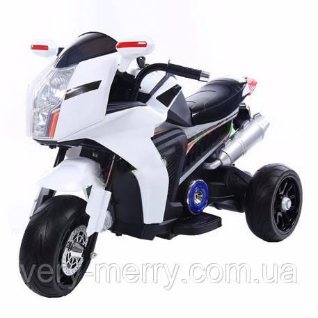 Дитячий електромотоцикл BMW (білий колір)