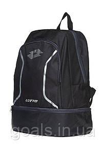 Спортивный рюкзак Lotto BACKPACK SOCCER OMEGA III черный