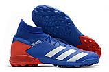 Сороконожки Adidas Predator Tango 20.3 TF blue, фото 4