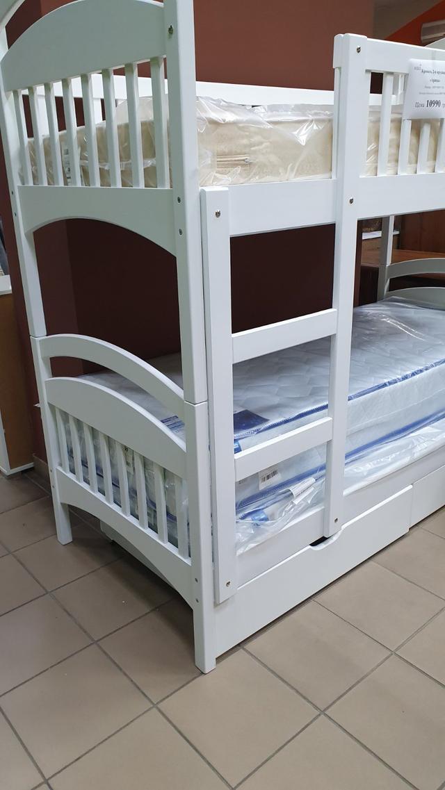 Кровать детская Арина двухъярусная