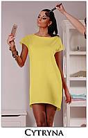 Платье женское туника свободная, фото 1
