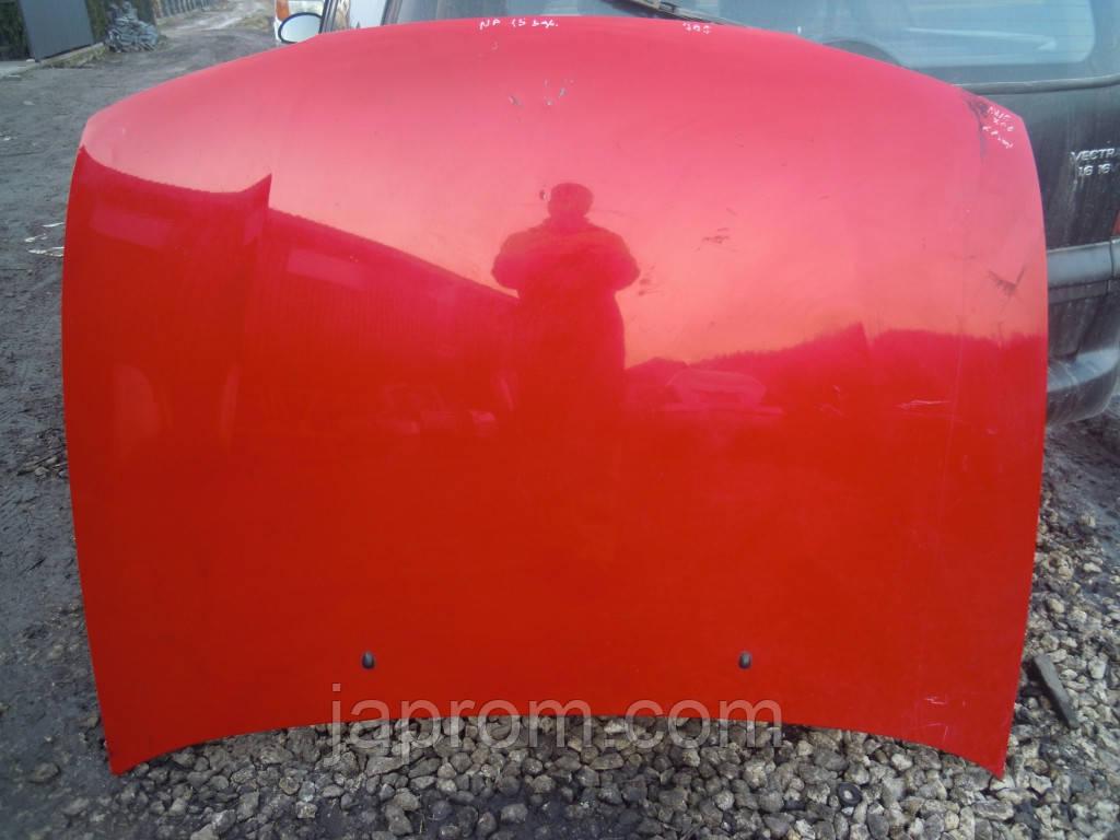 Капот Nissan Almera N15 1995-2000р.в. червоний