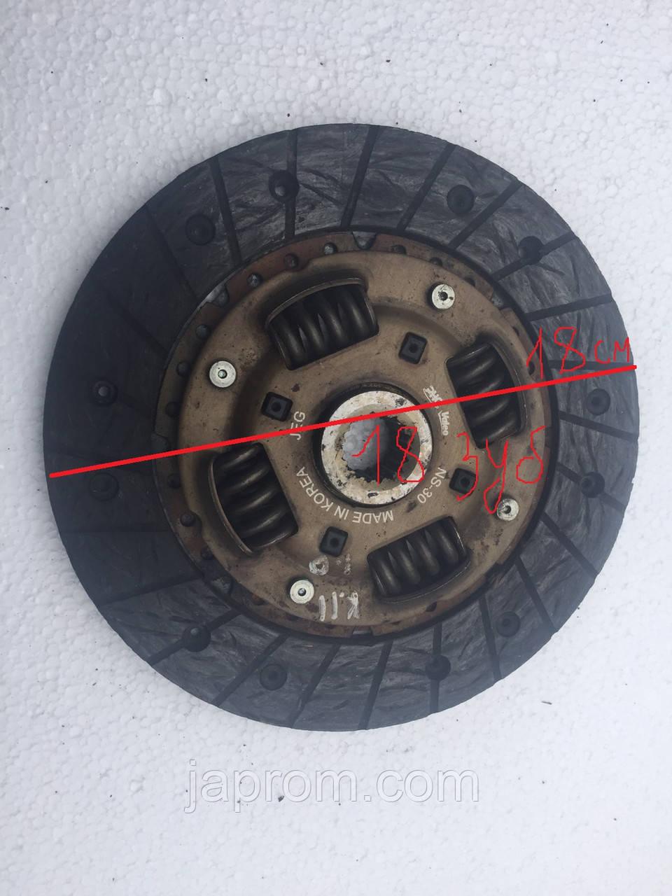 Диск сцепления Nissan Almera N15 Sunny GA14 1.4 бензин Micra K11 1.3 180мм 18зуб. 9мм.толщ.