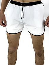 Шорты пляжные Intruder XL Белые с черным (1590408842/ 4)