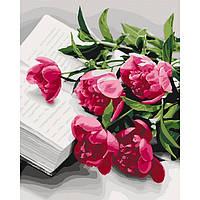 Набір для розпису по номерам. Квіти 40 * 50см