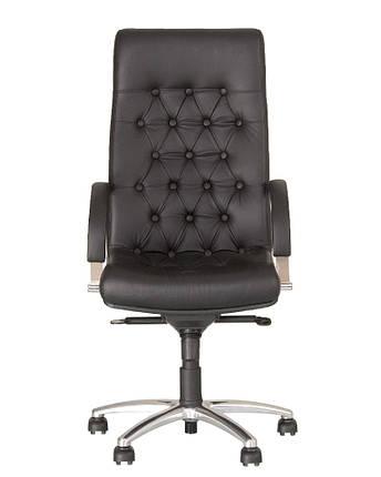 Кресло для руководителей FIDEL lux steel MPD CHR61 с механизмом «Мультиблок», фото 2