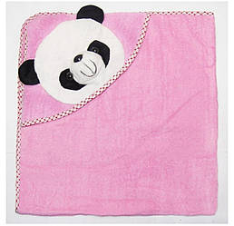 Детское махровое полотенце уголок Панда