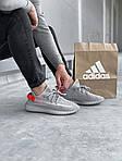 Мужские кроссовки Adidas Yeezy Boost 350 V2 'Tail Light' (серые) 447TP, фото 3