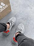 Мужские кроссовки Adidas Yeezy Boost 350 V2 'Tail Light' (серые) 447TP, фото 4