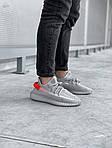 Мужские кроссовки Adidas Yeezy Boost 350 V2 'Tail Light' (серые) 447TP, фото 5
