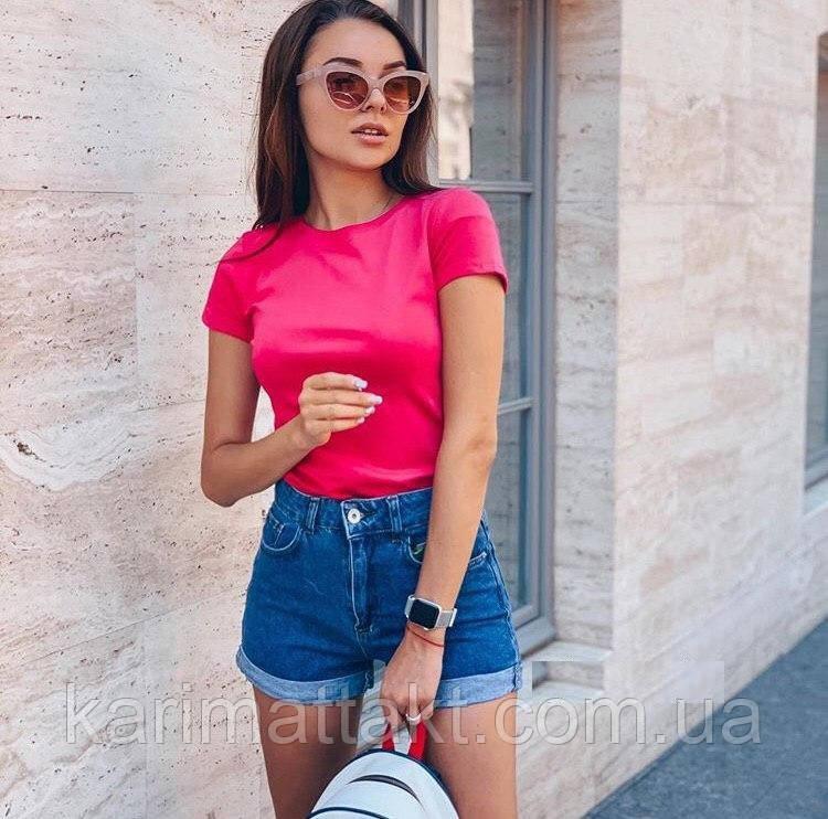 Базовая футболка женская