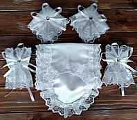 Венчальный набор белый