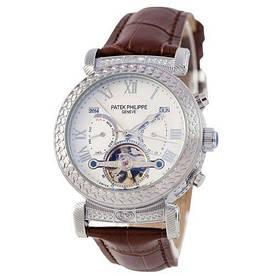 Наручные часы стандарт Patek Philippe Grand Complications Power Tourbillon Brown-Silver-White