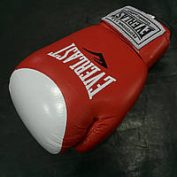 Перчатки боксёрские Everlast Protex-Star (VL-0105-R) 10 oz. Кожа