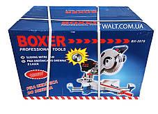 Торцовочная пила с протяжкой BOXER BX-2079, фото 2