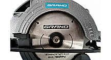 Пила дисковая Grand ПД-185-2150, фото 2