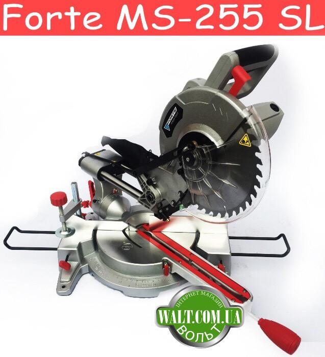 Торцовочная пила Forte MS-255 SL