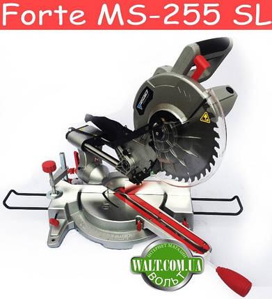 Торцовочная пила Forte MS-255 SL, фото 2