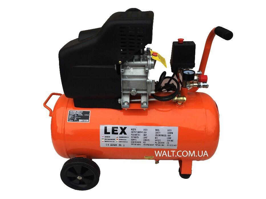 Компрессор с ресивером Lex LXC50 на 50л