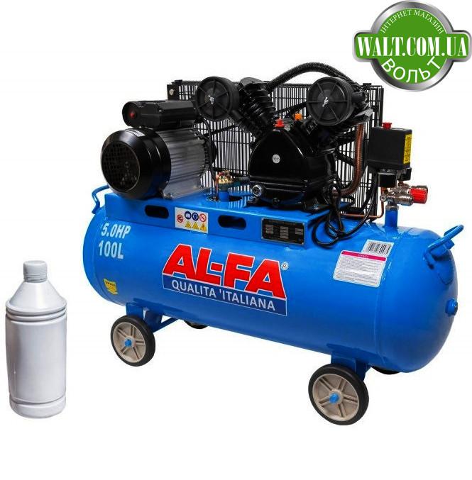 Компрессор AL-FA ALC100-2 (100 літрів)