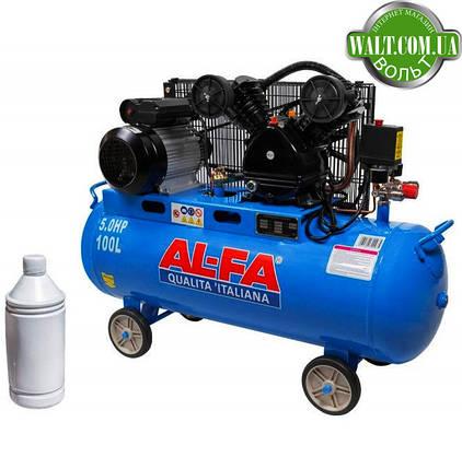 Компрессор AL-FA ALC100-2 (100 літрів), фото 2
