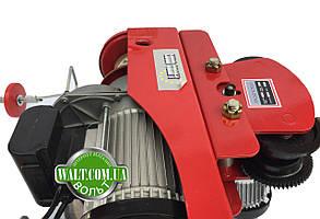 Тельфер с кареткой 1000кг, 2000 ВАТ EUROCRAFT таль лебедка передвижная, фото 3