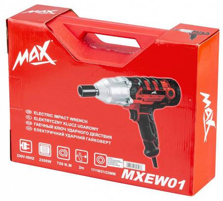 Гайковерт ударный электрический Max MXEW01 750Nm, фото 2