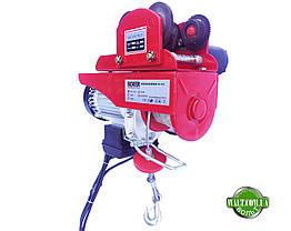 Тельфер с кареткой BOXER 500 КГ 2000 ВТ лебедка с передвижным механизмом, фото 3