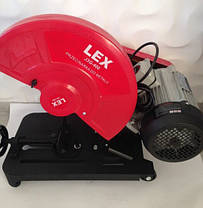 Монтажная пила (Металорез) LEX J3G-400 Вольт 380, фото 3