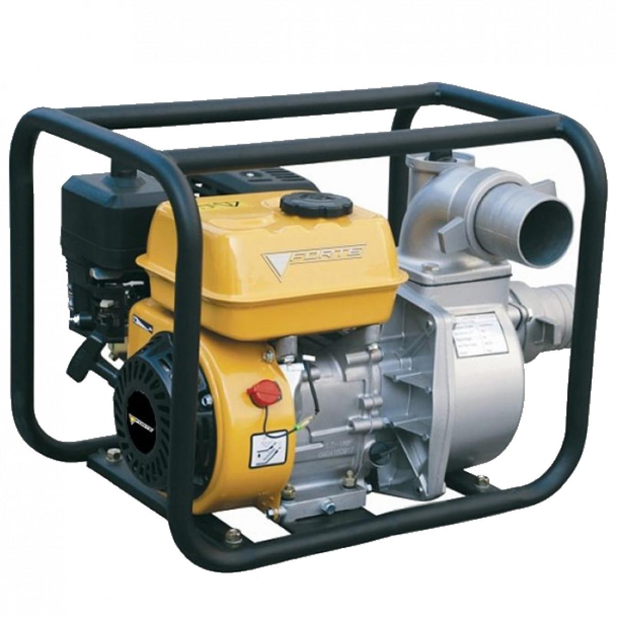 Мотопомпа бензинова Forte FP30C 4,7 кВт бензо мотопомпа