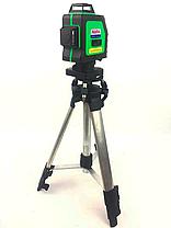 Профессиональный лазерный уровень AL-FA ALNL-3DG лазерный нивелир, фото 2