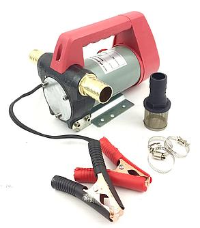 Насос для перекачування палива та рідких масел LEX : 12/24 V, фото 2