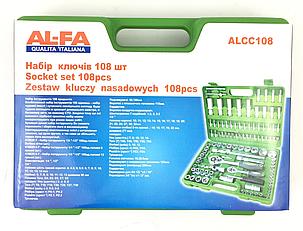 Набор инструментов AL-FA ALCC108 единиц,набір інструментів, фото 2