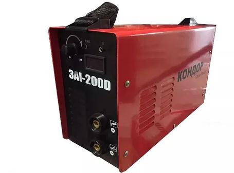 Сварочный апарат инвертор КОНДОР ЗАІ-200D зварювальний апарат, фото 2