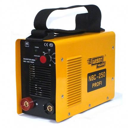 KAISER NBC-250 PROFI Сварочный инвертор, фото 2