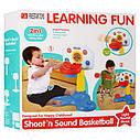 Дитячий розвиваючий центр - баскетбольна стійка, 2 м'ячі, світло, звук, фото 2