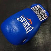 Перчатки боксёрские Everlast Target (BO-3340-B) 12 oz. Кожа