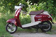 Скутер Yamaha Vino (вишнёвый), фото 1