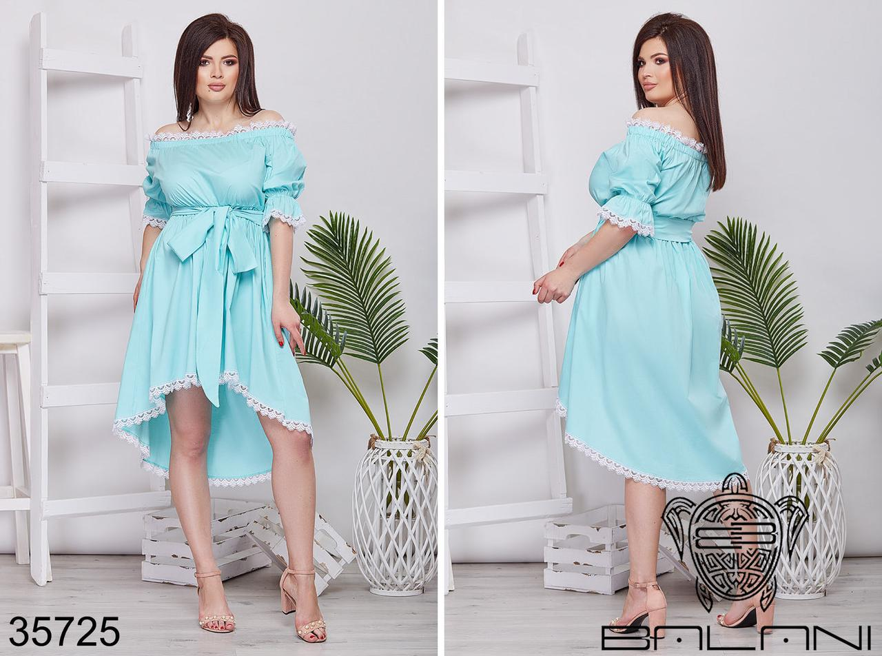 Вечернее женское платье батал р.48-54  Balani XL