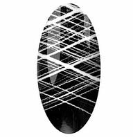 Гель паутинка для дизайна ногтей Magic girl, 5мл, белая
