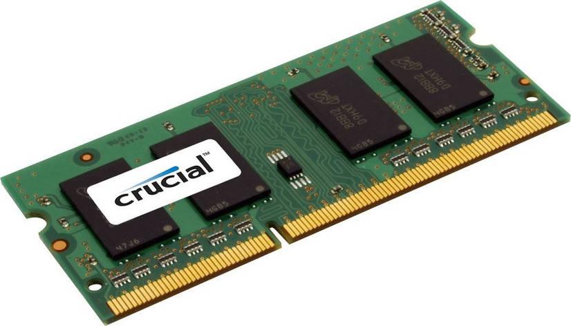 Модуль пам'яті SO-DIMM 4GB/1600 DDR3L Crucial (CT51264BF160B) Відновлений, фото 2