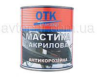 Антикоррозийная акриловая мастика ОТК Стандарт банка 2 кг