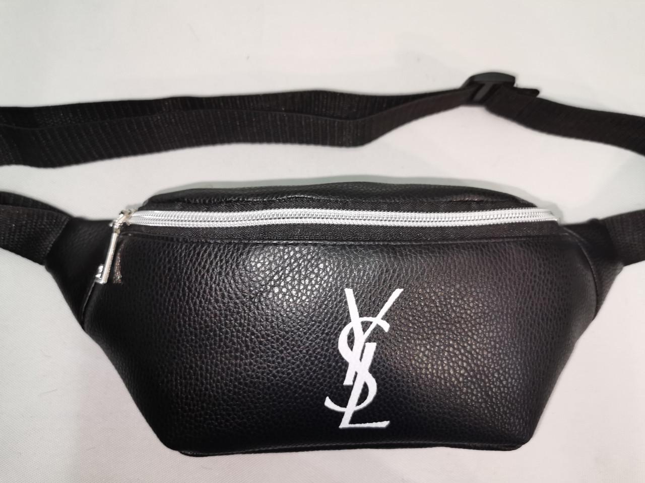 Новый стиль сумка на пояс YSL искусств кожа женский и мужские пояс Бананка только оптом
