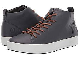 Кроссовки/Кеды ECCO Soft 8 Dritan™ Mid Cut Sneaker Magnet