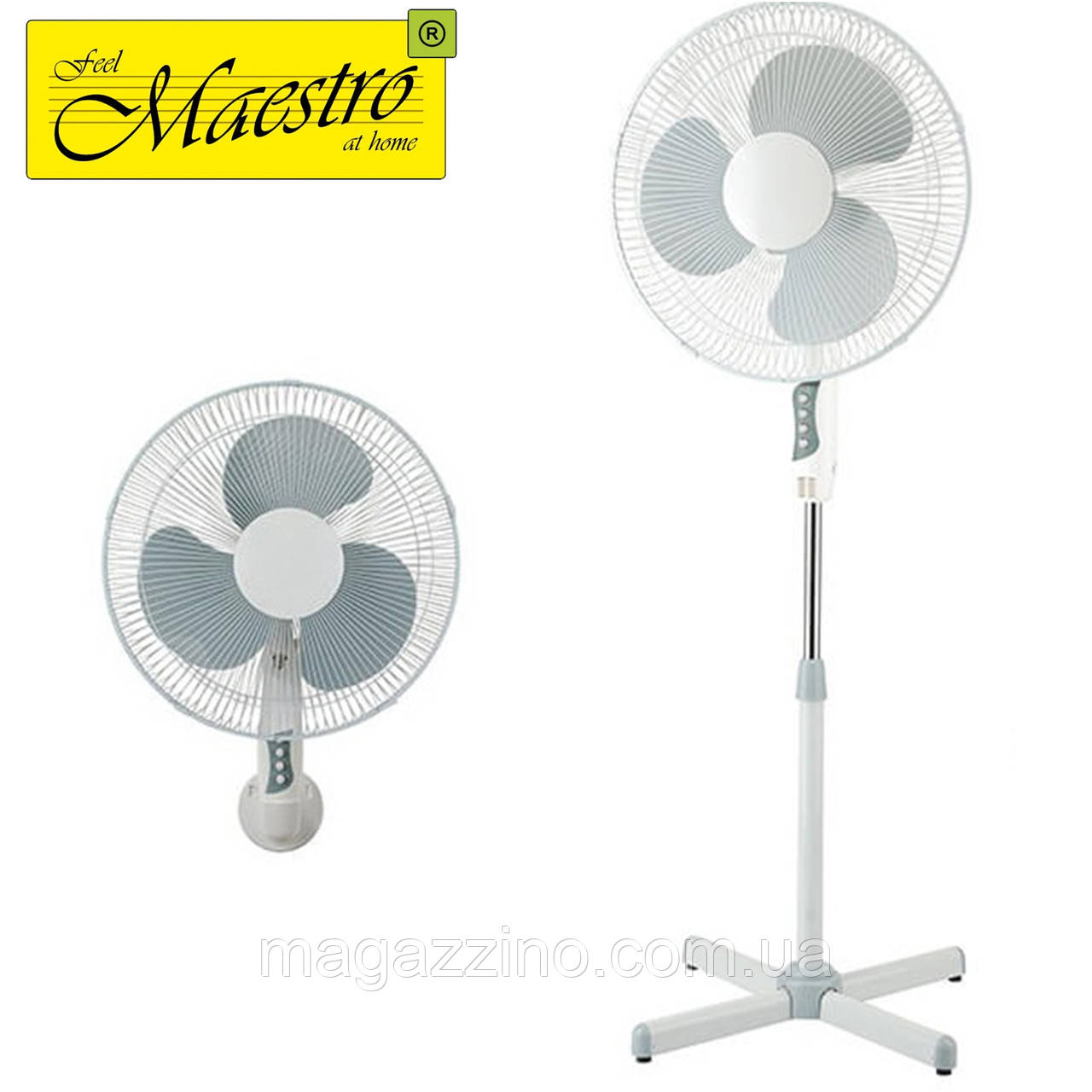Вентилятор 2в1 Maestro MR-902, 60 Вт.