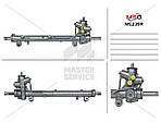 Рулевая рейка с ГУР для MERCEDES-BENZ A-Class W168 1997-2004 01.56.1505, 11-0634, 110726, 168 460 1600, 168