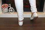 Балетки женские белые Т1079, фото 4