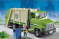 Плеймобил большой мусоровоз PLAYMOBIL Green Recycling Truck, фото 1