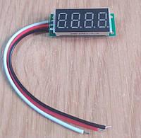 Вольтметр 3461AS1-7.3 DC 0-500,0В светодиодный, красный цифровой дисплей 0,36 дюймов, фото 1